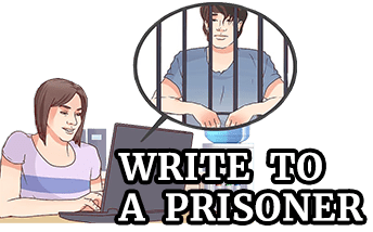 Write To A Prisoner | Support – Correspondence – Information
